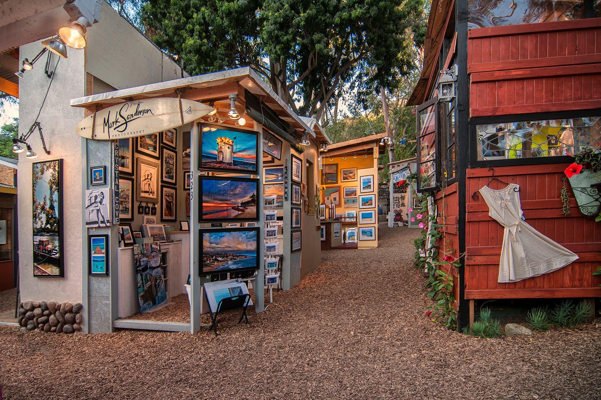 Laguna Beach Art Festival Sawdust
